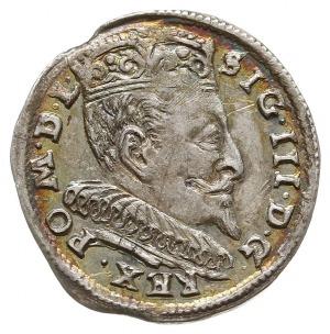 trojak 1594, Wilno, Iger V.94.1a/-, przy III na rewersi...