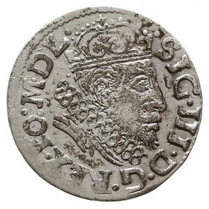trojak 1608, Wilno, Iger V.08.1.a/-, na rewersie krzyży...