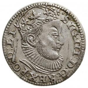 trojak 1589, Ryga, znak mincerski z prawej strony liter...