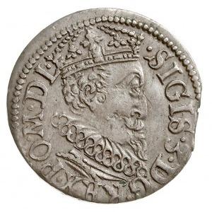 trojak 1619, Ryga, odmiana z małym popiersiem króla, Ig...