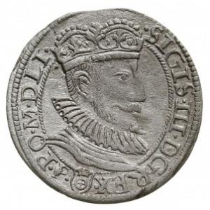 grosz 1593 I-F C-R, Olkusz, Aw: Popiersie króla i napis...