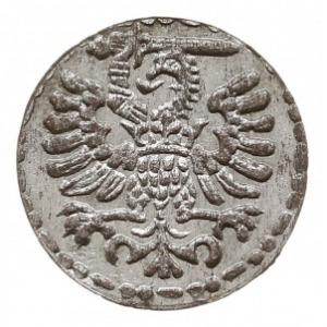 denar 1596, Gdańsk, piękny