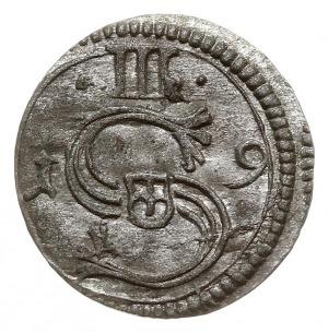 ternar 1619, Kraków, Kop. 585 (R1), lekko niecentryczny...
