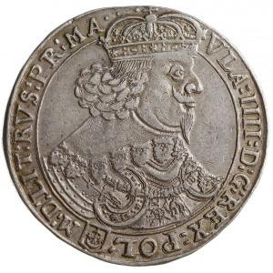 talar 1642, Bydgoszcz, Aw: Popiersie króla w prawo i na...