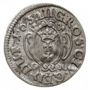 dwugrosz 1652, Gdańsk, CNG 272.II, Tyszk. 8, rzadki