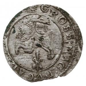grosz 1652, Wilno, odmiana z rzymską cyfrą I pod Pogoni...