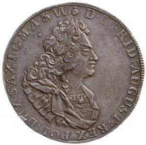 talar 1715, Drezno, Aw: Popiersie w prawo i napis wokoł...