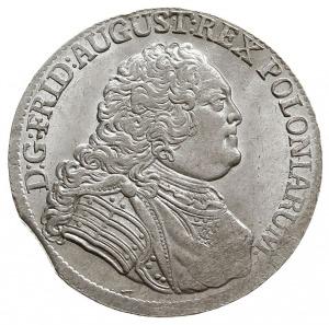 1/3 talara (1/2 guldena) 1756 FWoF, Drezno, Kahnt 555, ...