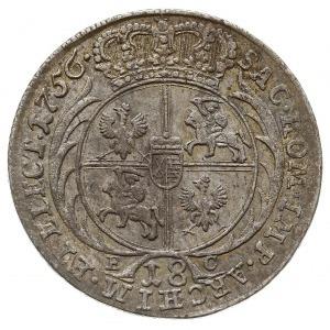 ort 1756, Lipsk, Kahnt 689 var. c - masywne popiersie, ...