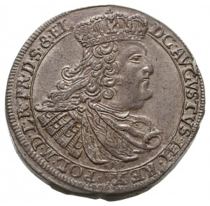 ort 1759, Gdańsk, odmiana z literami CHS (inicjałami za...