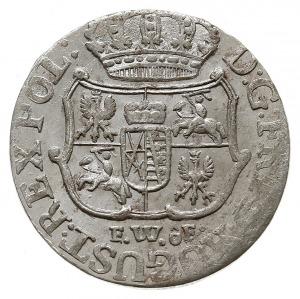 1/24 talara (grosz) 1756, Drezno, bez haka pod datą i i...
