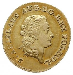 1 1/2 dukata (stanislaus d'or) 1794, Warszawa, Aw: Głow...