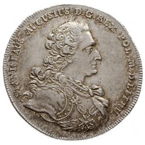talar 1766, Warszawa, popiersie króla w zbroi, bez krop...