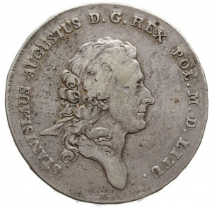 talar 1770, Warszawa, srebro 27.73 g, Plage 385, Dav. 1...