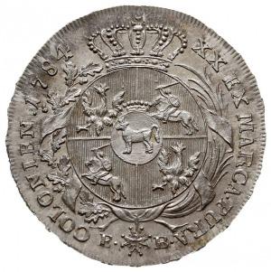 półtalar 1784 E-B, Warszawa, Plage 370, H-Cz. 3267, Ber...