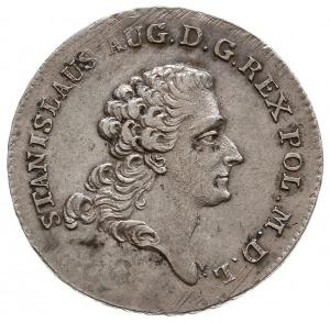 dwuzłotówka 1768, Warszawa, odmiana z literami I. - S.,...