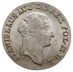 złotówka 1790, Warszawa, interpunkcja w postaci dużych ...