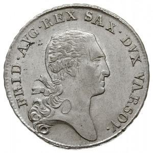 dwuzłotówka (1/3 talara) 1811, Warszawa, końcówki gałąz...