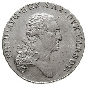 dwuzłotówka (1/3 talara) 1812, Warszawa, Plage 111, lek...