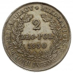 dwuzłotówka 1830 FH, Warszawa, Plage 61, Bitkin 995, Be...