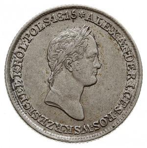 złotówka 1830 FH, Warszawa, odmiana z kropkami po ZŁO i...