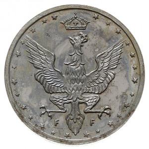 Królestwo Polskie, 20 fenigów 1917 F, Stuttgart, Jaeger...
