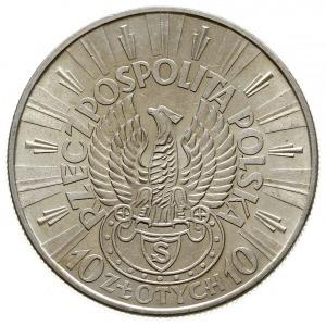 """10 złotych 1934 S Warszawa, Józef Piłsudski -  """"Orzeł S..."""