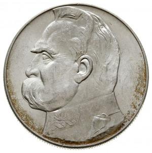 10 zlotych 1936, Warszawa, Józef Piłsudski, Parchimowic...