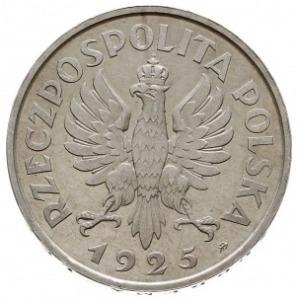 5 złotych 1925, Konstytucja, odmiana z 81 perełkami i z...