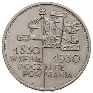 5 złotych 1930, Warszawa, 100. Rocznica Powstania Listo...