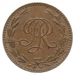 20 złotych 1924, Warszawa, Monogram II RP w wieńcu, brą...