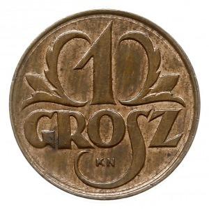 1 grosz 1923, Kings Norton, litery KN pod napisem GROSZ...