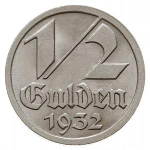 1/2 guldena 1932, Berlin, Jaeger D.14, Parchimowicz 60,...