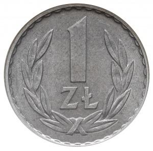 1 złoty 1967, Warszawa, aluminium, Parchimowicz 213.d, ...