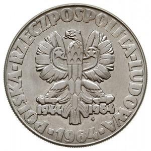 """10 złotych 1964, Warszawa, """"klucz, sierp i kielnia"""", z ..."""