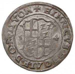 Henryk von Galen i Wilhelm von Brandenburg 1551-1557, 1...