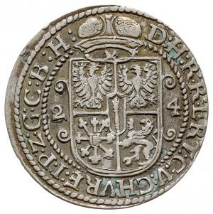 ort 1624, Królewiec, Olding 41a, Slg. Marienburg 1449, ...