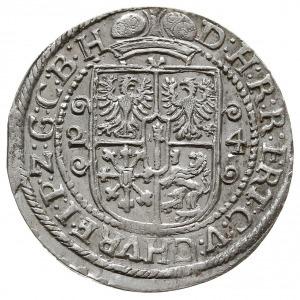 ort 1624, Królewiec, Olding 41a, Slg. Marienburg 1448, ...