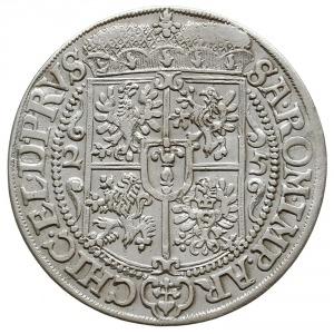 ort 1625, Królewiec, na rewersie pod tarczą znak mennic...