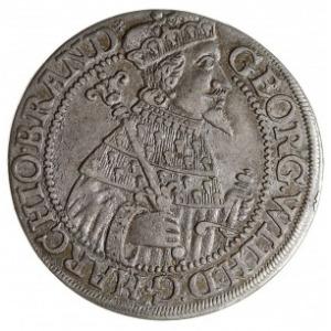 ort 1626, Królewiec, na rewersie znak mennicy w ozdobny...