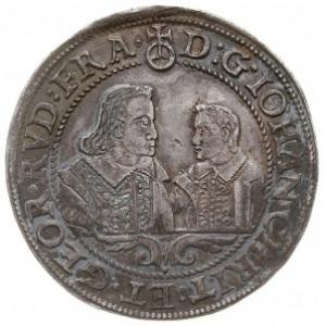talar 1607, Brzeg, odmiana z skróconą datą 607, Aw: Dwi...