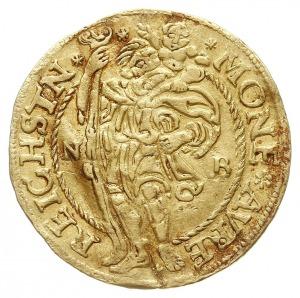 dukat 1532, Złoty Stok, Aw: Tarcza herbowa i napis woko...