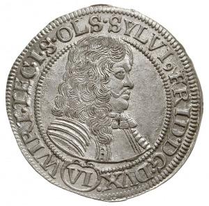 6 krajcarów 1674/S-P, Oleśnica, F.u.S. 2295, Klein/Raff...