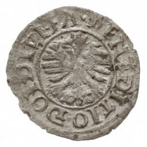 dreier (trzeciak) 1568, Cieszyn, Aw: Orzeł i napis, Rw:...