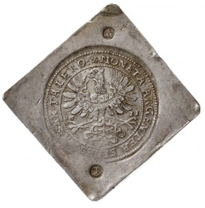 6 talarów 1621, Oława, klipa jednostronna, srebro 24.36...