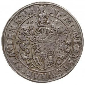 talar 1622, Wrocław, Aw: Popiersie w prawo i napis, Rw:...