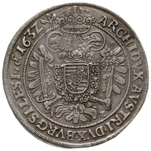 talar 1632, Wrocław, odmiana bez litery W ale z literam...