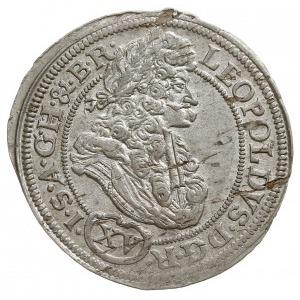 15 krajcarów 1693 C.B, Brzeg, F.u.S. 729, Herinek 1027,...
