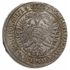 15 krajcarów 1694 M.M.W., Wrocław, F.u.S. 602, Herinek ...