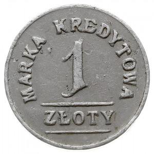 Lwów - 1 złoty Sklepu Żołnierskiego 19 Pułku Piechoty, ...